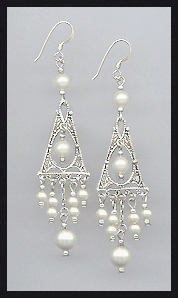 Swarovski Cream Pearl Earrings
