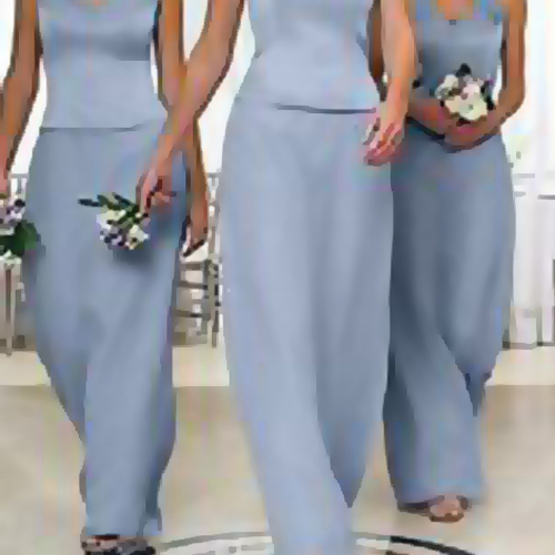 light blue and silver bridesmaid jewelry